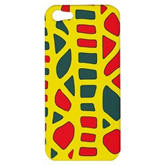 Yellow, green and red decor Apple iPhone 5 Hardshell Case