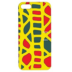 Yellow, green and red decor Apple iPhone 5 Hardshell Case with Stand
