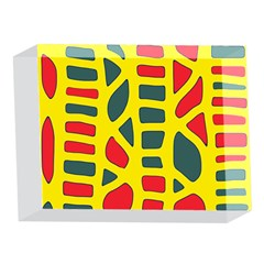 Yellow, green and red decor 5 x 7  Acrylic Photo Blocks