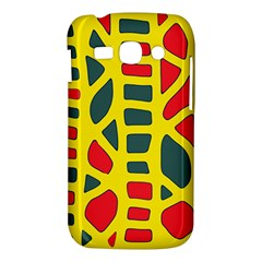 Yellow, green and red decor Samsung Galaxy Ace 3 S7272 Hardshell Case