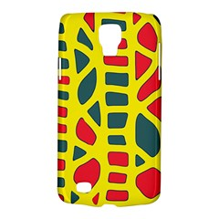 Yellow, green and red decor Galaxy S4 Active