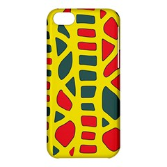 Yellow, green and red decor Apple iPhone 5C Hardshell Case
