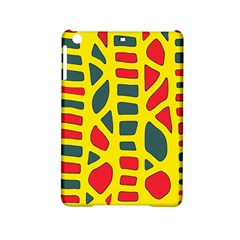 Yellow, green and red decor iPad Mini 2 Hardshell Cases
