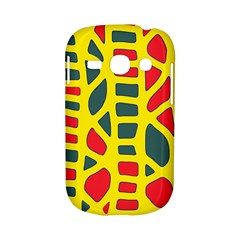 Yellow, green and red decor Samsung Galaxy S6810 Hardshell Case