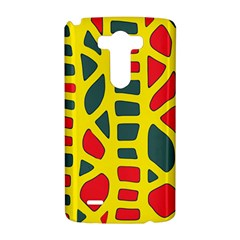 Yellow, green and red decor LG G3 Hardshell Case