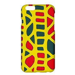 Yellow, green and red decor Apple iPhone 6 Plus/6S Plus Hardshell Case