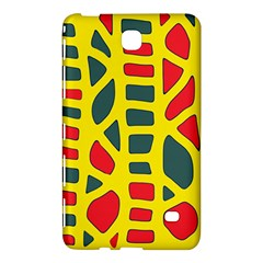 Yellow, green and red decor Samsung Galaxy Tab 4 (8 ) Hardshell Case