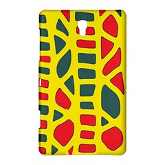 Yellow, green and red decor Samsung Galaxy Tab S (8.4 ) Hardshell Case