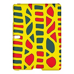 Yellow, green and red decor Samsung Galaxy Tab S (10.5 ) Hardshell Case