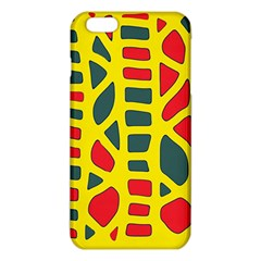 Yellow, Green And Red Decor Iphone 6 Plus/6s Plus Tpu Case