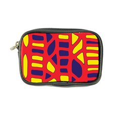Red, yellow and blue decor Coin Purse