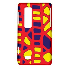 Red, yellow and blue decor LG Optimus Thrill 4G P925