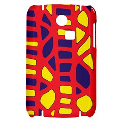 Red, yellow and blue decor Samsung S3350 Hardshell Case