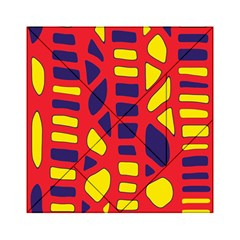 Red, yellow and blue decor Acrylic Tangram Puzzle (6  x 6 )