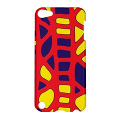 Red, yellow and blue decor Apple iPod Touch 5 Hardshell Case