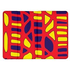 Red, yellow and blue decor Kindle Fire (1st Gen) Flip Case