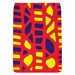 Red, yellow and blue decor Flap Covers (S)