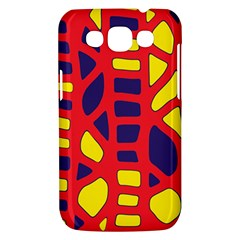 Red, yellow and blue decor Samsung Galaxy Win I8550 Hardshell Case