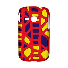 Red, yellow and blue decor Samsung Galaxy S6310 Hardshell Case