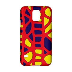 Red, yellow and blue decor Samsung Galaxy S5 Hardshell Case
