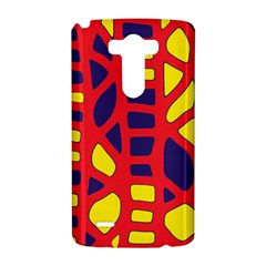 Red, yellow and blue decor LG G3 Hardshell Case