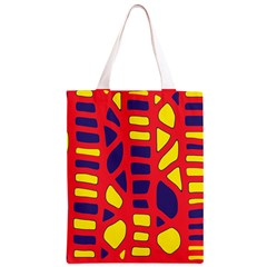 Red, yellow and blue decor Classic Light Tote Bag