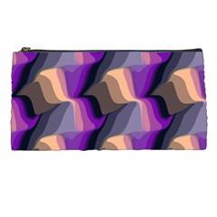 Wavy pattern                                                                                           Pencil Case
