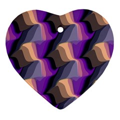 Wavy pattern                                                                                           			Ornament (Heart)