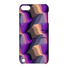 Wavy pattern                                                                                          Apple iPod Touch 5 Hardshell Case with Stand