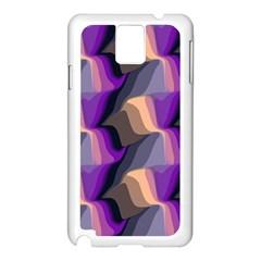 Wavy pattern                                                                                          Samsung Galaxy Note 3 N9005 Case (White)