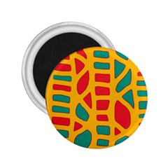Abstract decor 2.25  Magnets
