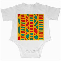 Abstract decor Infant Creepers