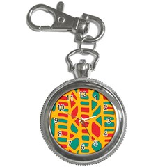 Abstract decor Key Chain Watches