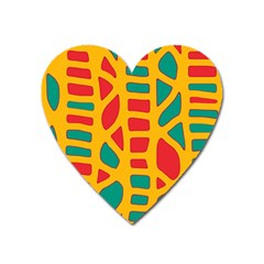 Abstract decor Heart Magnet