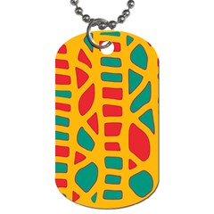 Abstract decor Dog Tag (Two Sides)