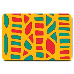 Abstract decor Large Doormat