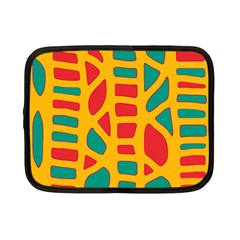 Abstract decor Netbook Case (Small)