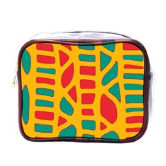 Abstract decor Mini Toiletries Bags