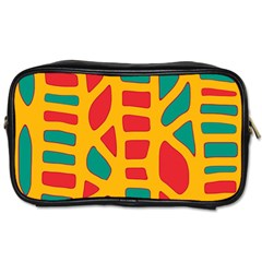 Abstract decor Toiletries Bags 2-Side