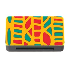 Abstract decor Memory Card Reader with CF