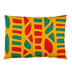 Abstract decor Pillow Case (Two Sides)