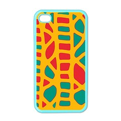Abstract decor Apple iPhone 4 Case (Color)