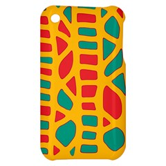 Abstract decor Apple iPhone 3G/3GS Hardshell Case