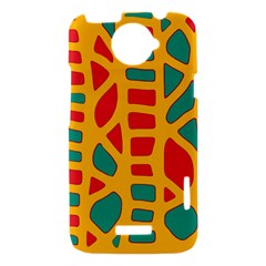 Abstract decor HTC One X Hardshell Case