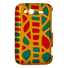 Abstract decor HTC Wildfire S A510e Hardshell Case