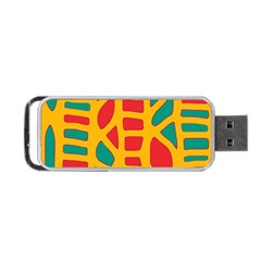 Abstract decor Portable USB Flash (One Side)