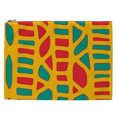 Abstract decor Cosmetic Bag (XXL)