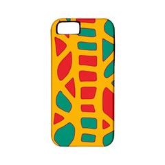 Abstract decor Apple iPhone 5 Classic Hardshell Case (PC+Silicone)