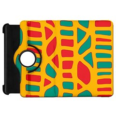 Abstract decor Kindle Fire HD Flip 360 Case