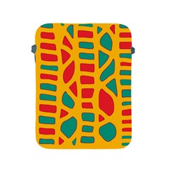 Abstract decor Apple iPad 2/3/4 Protective Soft Cases